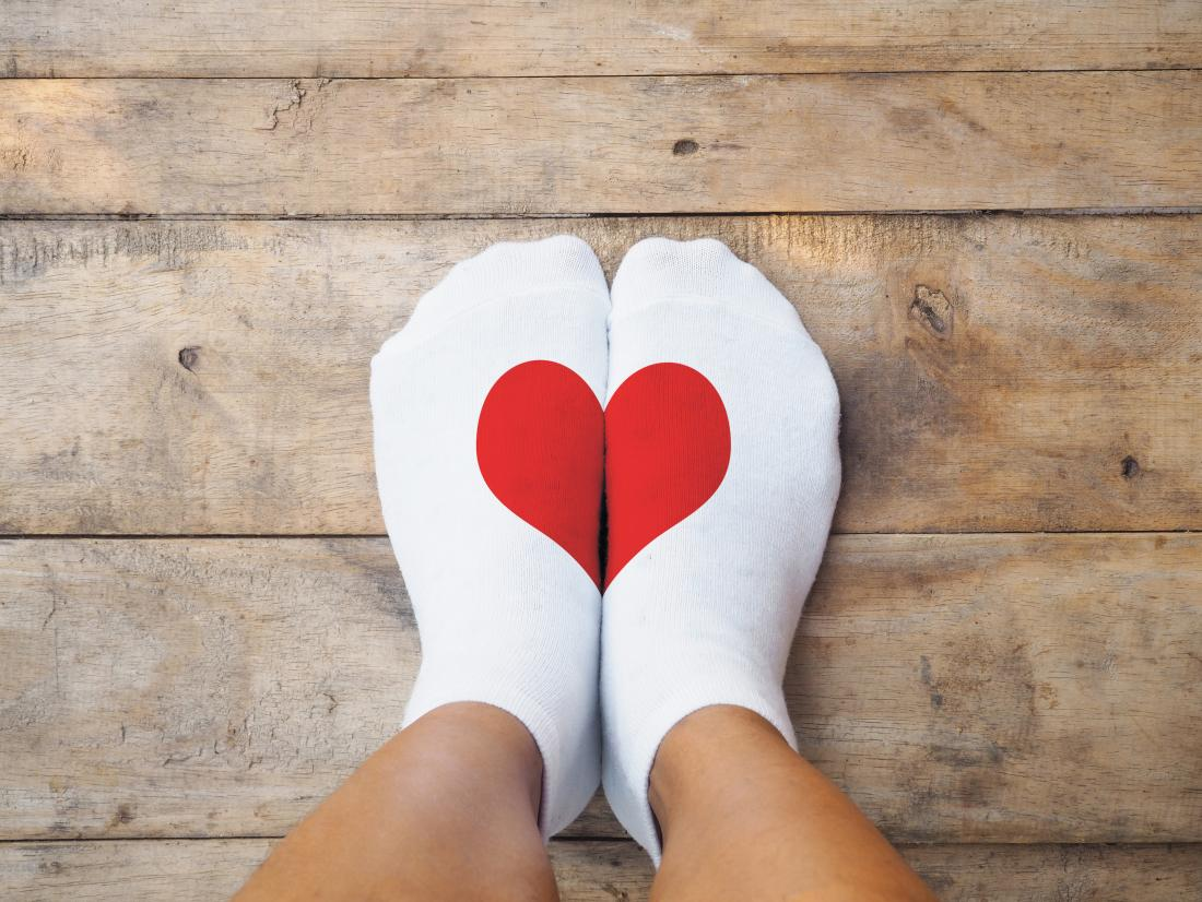 socks-with-heart